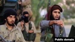 伊斯兰国发布的一则视频威胁袭击华盛顿(2015年11月16日 视频截图)