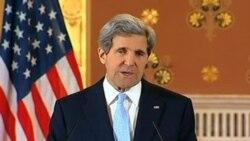 John Kerry en Gran Bretana