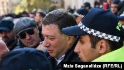 Лидер оппозиционной «Европейской Грузии» Гиги Угулава. Архивное фото.