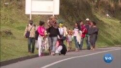 Xalqaro hayot: AQSh chegarasiga to'planayotgan migrantlar