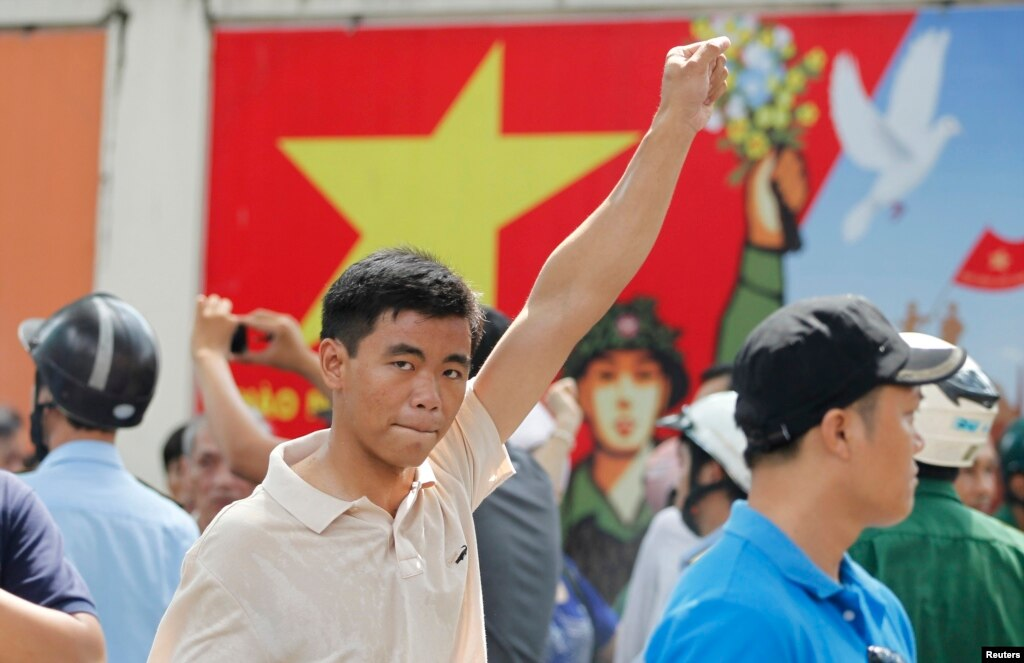 China Protests Against Vietnam