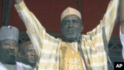 Mallam Ibrahim Shekarau a lokacin da ya zama dan takarar jam'iyyar ANPP a birnin Abuja, 15 Jan 2011.