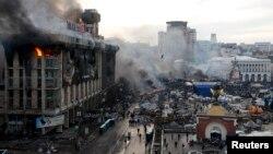 Киев, 19 февраля 2014