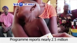 VOA60 World - WFP: Almost 2.5 million people will face hunger in CAR
