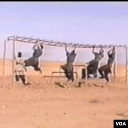 Sa obuke u jednom od terorističkih kampova