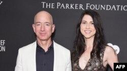 Najbogatiji čovek na svetu Džef Bezos i Mekenzi Skot bili su u braku do 2019.