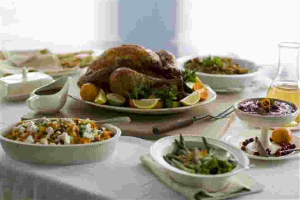 Esta es una ocasión especial para cocinar, y el plato estrella de la noche es el pavo.