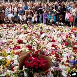La Norvège pleure ses morts