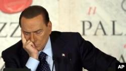 意大利前總理貝盧斯科尼(資料圖片)