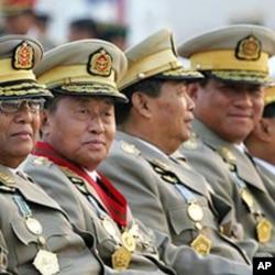 后奈温时代缅甸军队将领