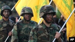 در جلسه بررسی این دو طرح بارها از ایران به عنوان حامی اصلی حزب الله لبنان یاد شد.