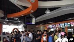 上海世博的台资豆浆店每天顾客约3000人次