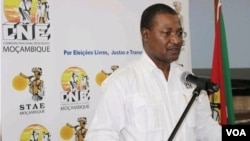FILE - Paulo Cuinica is spokesman for Mozambique's National Electoral Commission (CNE)