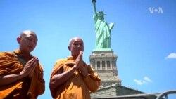 บทสรุปเส้นทางเดินเพื่อสันติภาพ 5,000 กม. ข้ามอเมริกา ของ 'พระสุธรรม ฐิตธัมโม'