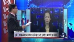 VOA连线:被打压律师不断增加 国务院:敦促中国改善人权