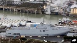 Navio de guerra russo
