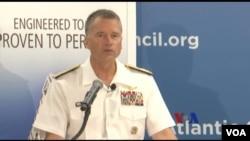美军参谋长联席会议副主席、海军上将温尼菲尔德(ADM Winnefeld)