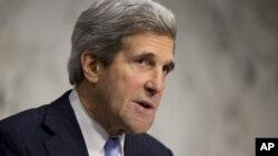 ທ່ານ John Kerry ສະມາຊິກສະພາສູງສະຫະລັດ ທີ່ຖືກແຕ່ງຕັ້ງເປັນ ລັດຖະມົນຕີຕ່າງປະເທດສະຫະລັດຄົນໃໝ່