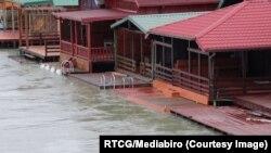 Poplave u Ulcinju (Foto: RTCG/Mediabiro)