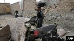 سقوط هلیکوپتر در افغانستان، جان دو کودک افغان را گرفت