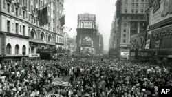 WWII VE DAY TIMES SQUARE