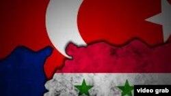 Turkey - Syria Flags