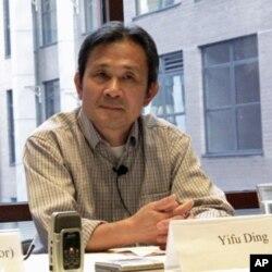 现居美国乔治亚州的中国作家丁一夫