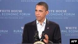 Predsednik Barak Obama govori na ekonomskom forumu u Ajovi