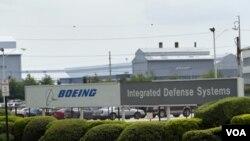 La planta de Ridley Park fabrica aviones V-22 Osprey y helicópteros H-47 Chinook.