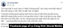 """Ý kiến của nhà hoạt động Lê Công Định sau vụ """"hiệp sĩ đường phố"""" bị sát hại hôm 13/5/2018"""