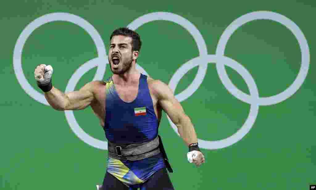 او توانست رکورد جهانی و المپیک را جابجا کند.