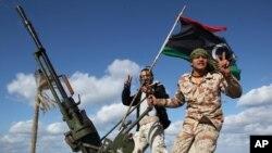 Abarwanyi bo muri Libiya