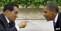 Husni Muborak va Barak Obama, Oq uydagi uchrashuv, 1 sentabr 2010
