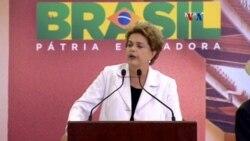 Presidenta de Brasil rechaza juicio político