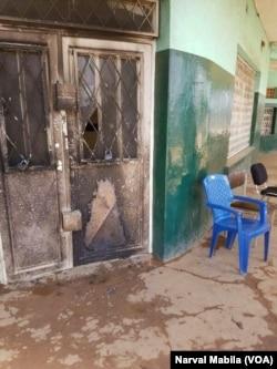 Des manifestations ont eu lieu à Lubumbashi, en RDC, le 29 mars 2017. (VOA/Narval Mabila)