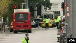 Tras varias horas de investigación la policía determinó que no se trató de un hecho terrorista.