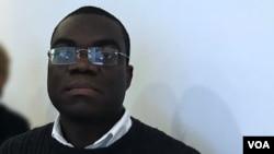 Teixeira Cândido, secretário-geral do Sindicato dos Jornalistas Angolanos