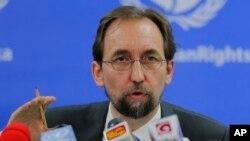BMTning Inson huquqlari bo'yicha Oliy komissari Zayd Raad al-Husayn