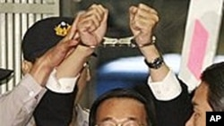 台湾前总统陈水扁 (资料照片)
