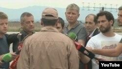 Первое интервью капитана Константина Мурахтина на авиабазе Хмеймим (Hmeimim) в Латакии, Сирия. 25 ноября 2015.