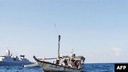 Hotuna daga ma'aikatar tsaron Netherlands gameda mafasa cikin teku daga Somalia.