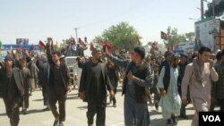 اعتراضات هواداران قومندان قیصاری از پنج روز به اینسو در ولایت فاریاب افغانستان ادامه دارد.