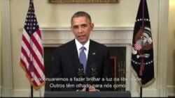 Presidente Obama fala aos cubanos