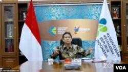 Menkes Budi Gunadi Sadikin dalam telekonferensi pers di Jakarta , Senin (8/4) mengatakan telah ditemukan lagi empat kasus COVID-19 varian baru B117 asal Inggris di Indonesia (Foto: VOA)