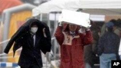 방사능 누출 지역의 일본인들