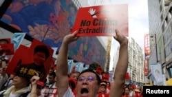 تصاویر: ملزمان کی چین حوالگی قانون کے خلاف ہانگ کانگ میں احتجاج