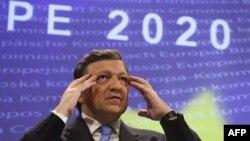 Глава Европейской комиссии Жозе-Мануэль Баррозу