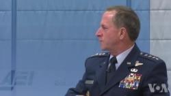 空军参谋长古德芬上将谈太空作战原声视频