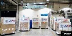 USAID cung cấp 100 máy thở cho Việt Nam, ảnh do USAID Vietnam đăng ngày 16/09/2020. USAID Vietnam Twitter.