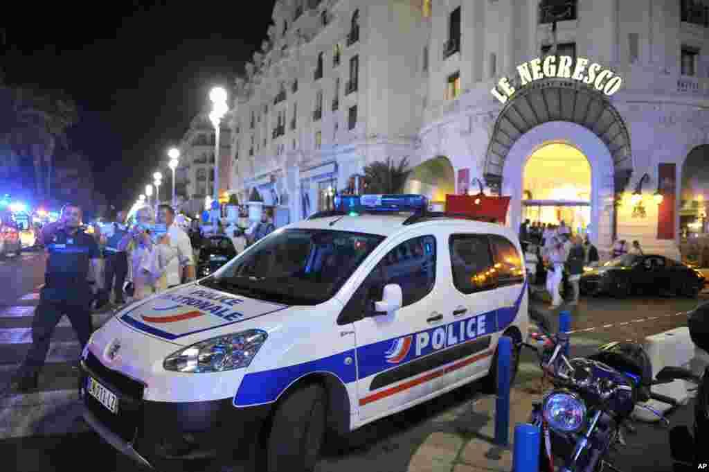گزشتہ سال سے اب تک فرانس میں دہشت گردی کا تیسرا بڑا واقعہ ہے۔